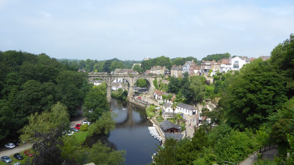River Nidd and Viaduct