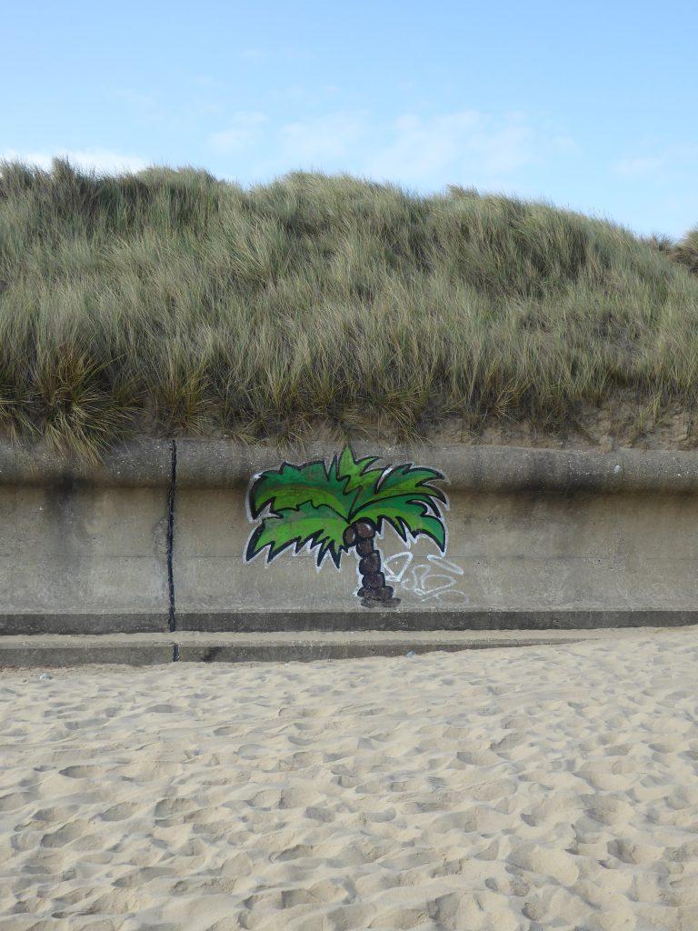 Graffiti on the beach