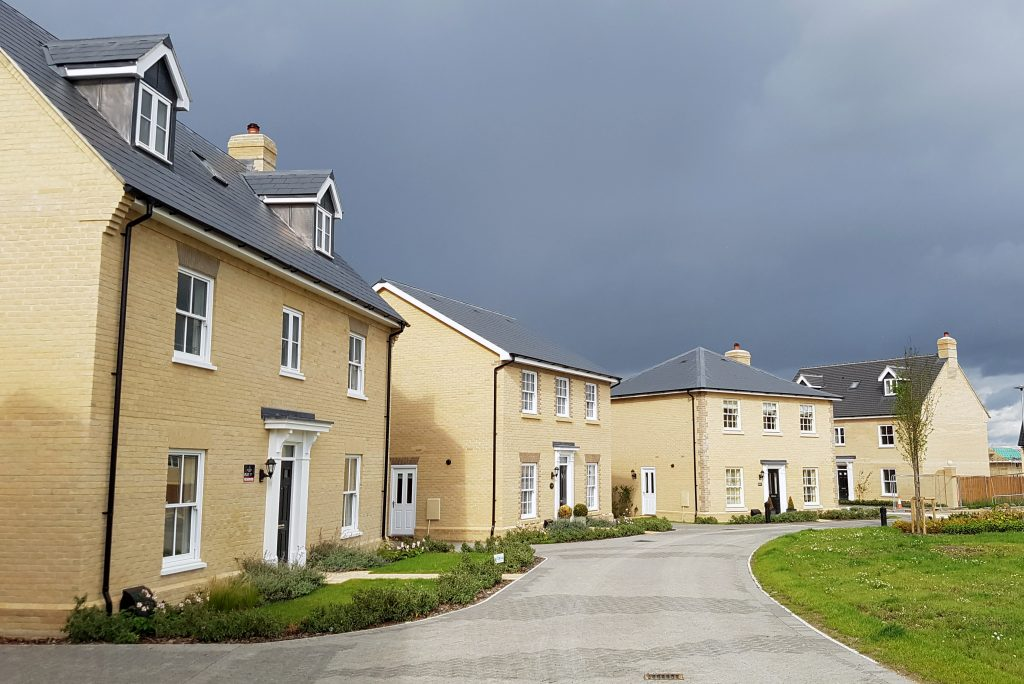 new houses in the uk
