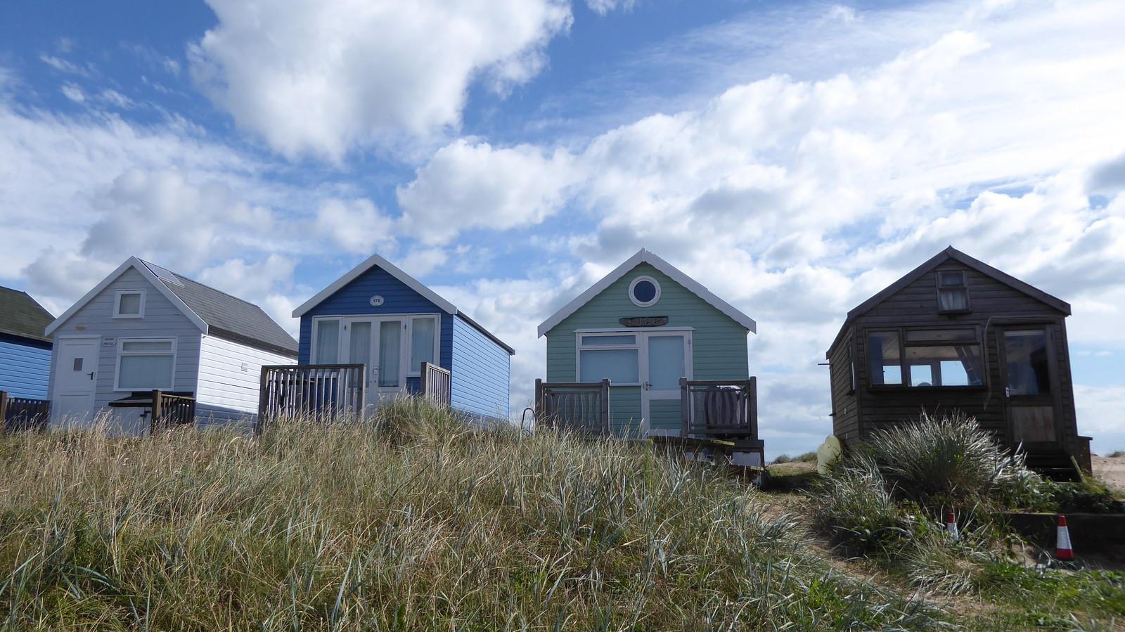 Mudeford exclusive beach huts