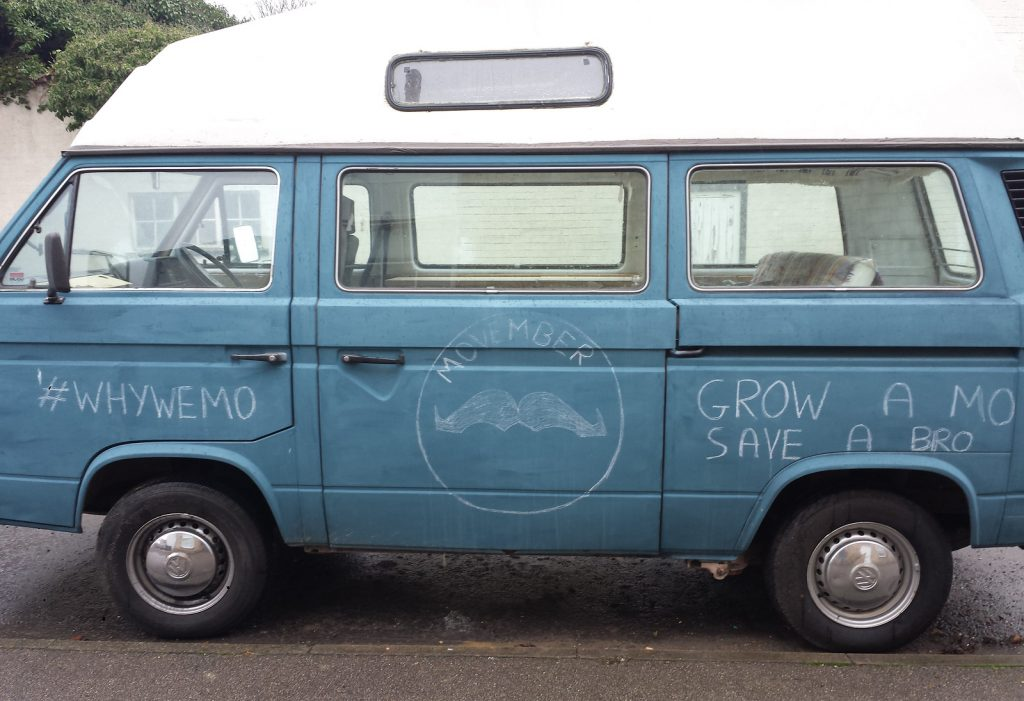Grow a Mo Van