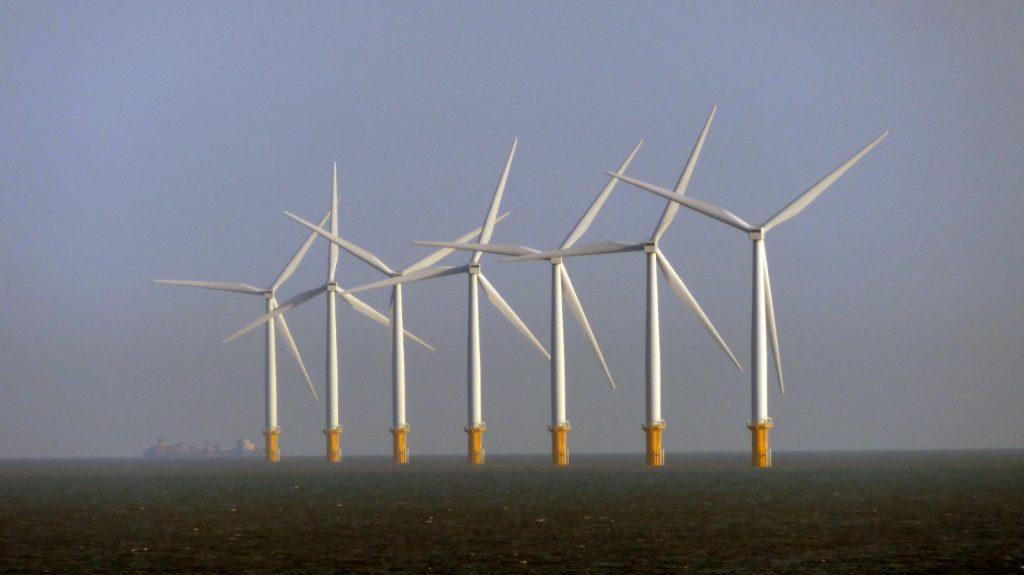 Sea wind farms