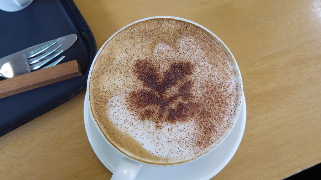 National Trust Coffee decoration
