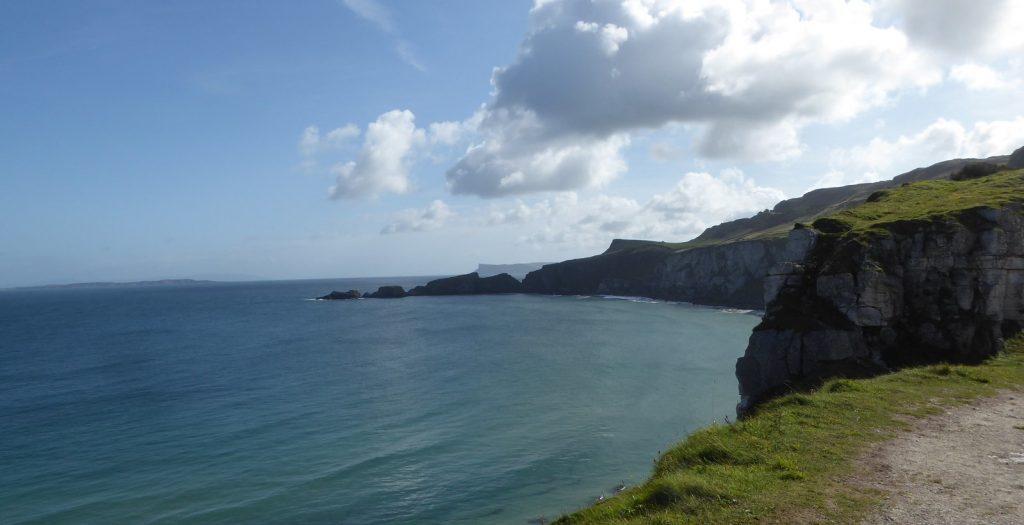 The Causeway Coast rugged views