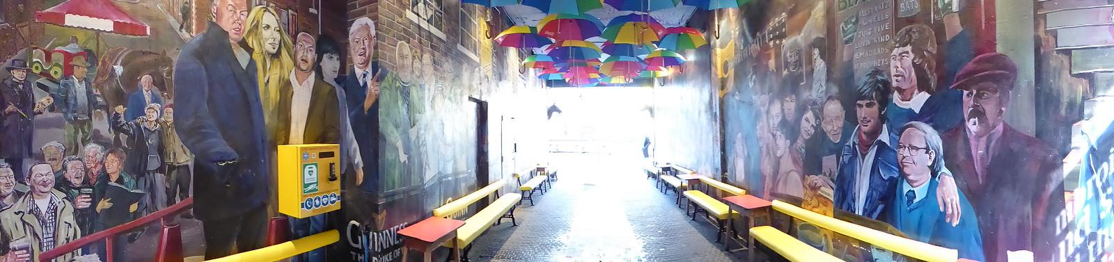 Belfast Pub garden
