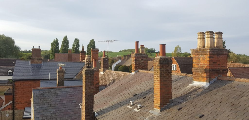 Rooftops over the town