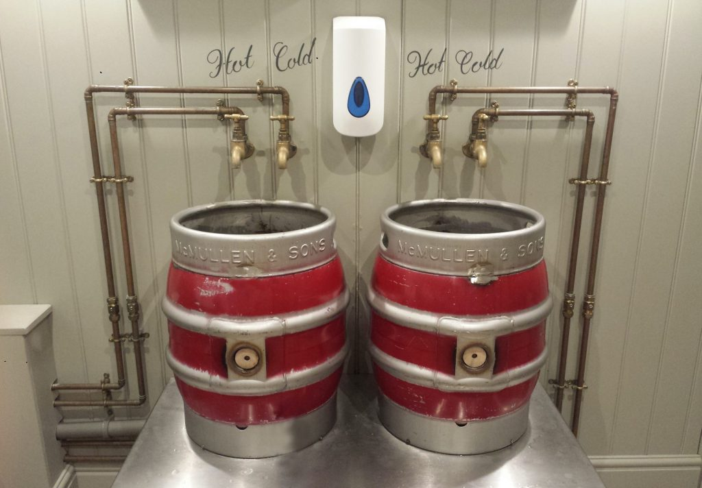 Hot and cold barrels