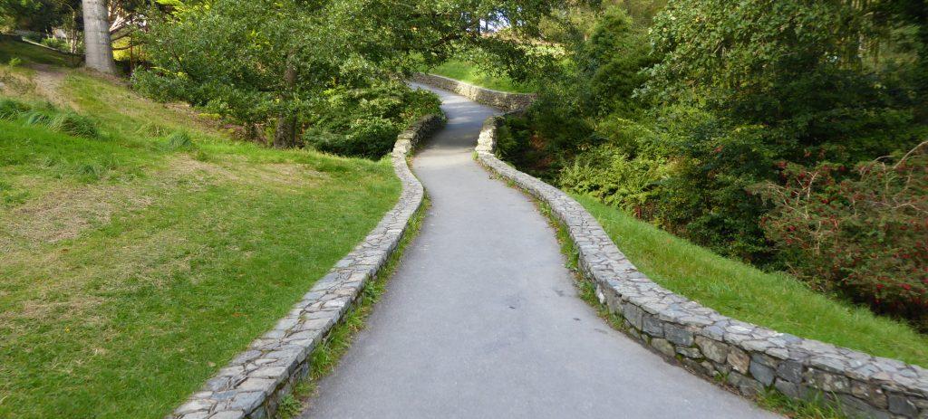 Manicured pathway
