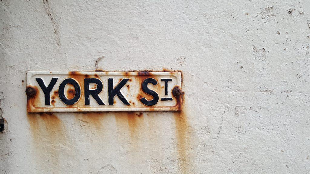 York Street rusting