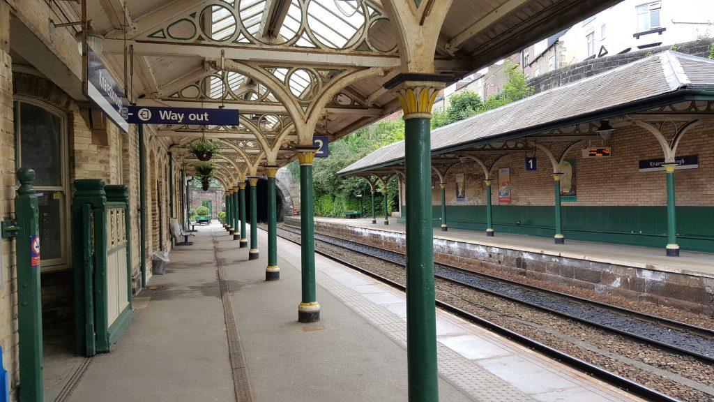 Rural railway station