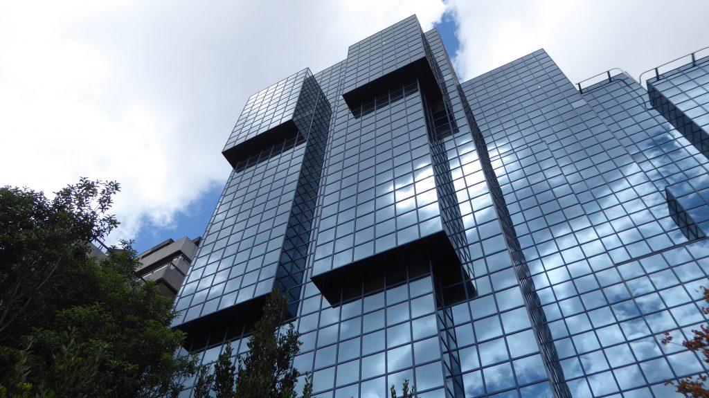 Thameside building in London